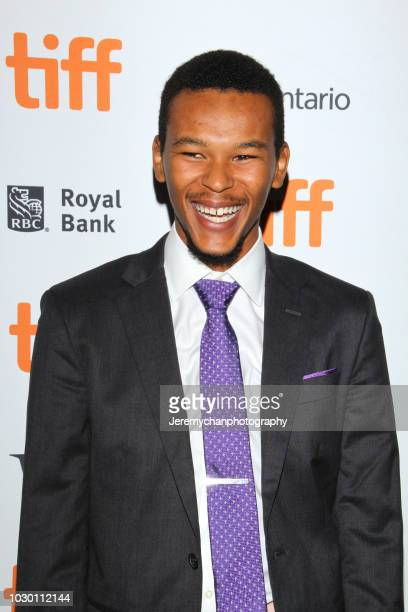 Nakel Smith attends the 'Mid90s' Premiere during 2018 Toronto International Film Festival at Ryerson Theatre on September 9 2018 in Toronto Canada