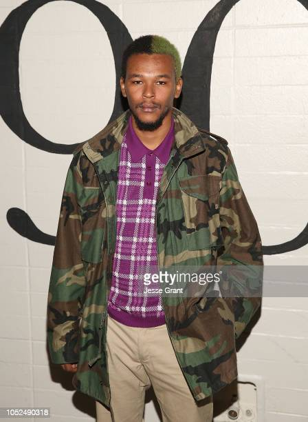 Nakel Smith attends the premiere of A24's Mid90s at West LA Courthouse on October 18 2018 in Los Angeles California