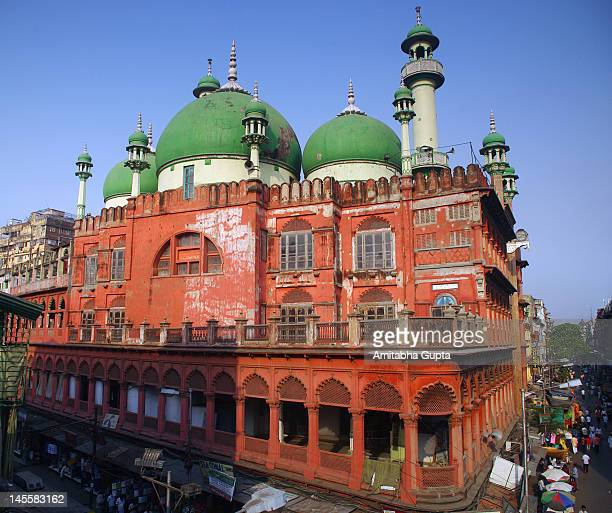nakhoda mosque - mosque stock pictures, royalty-free photos & images