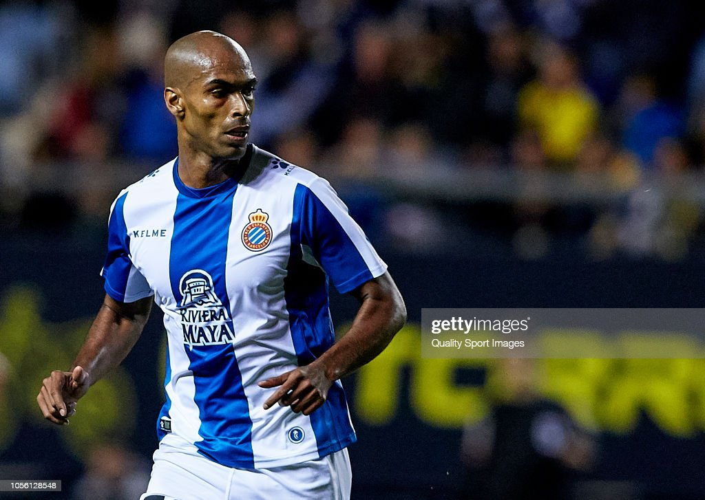 Naldo Gomes of Espanyol looks on during the Spanish Copa ...
