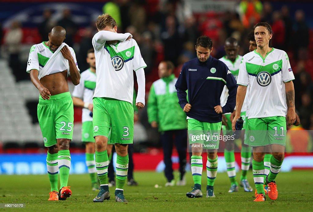 Manchester United FC v VfL Wolfsburg - UEFA Champions League