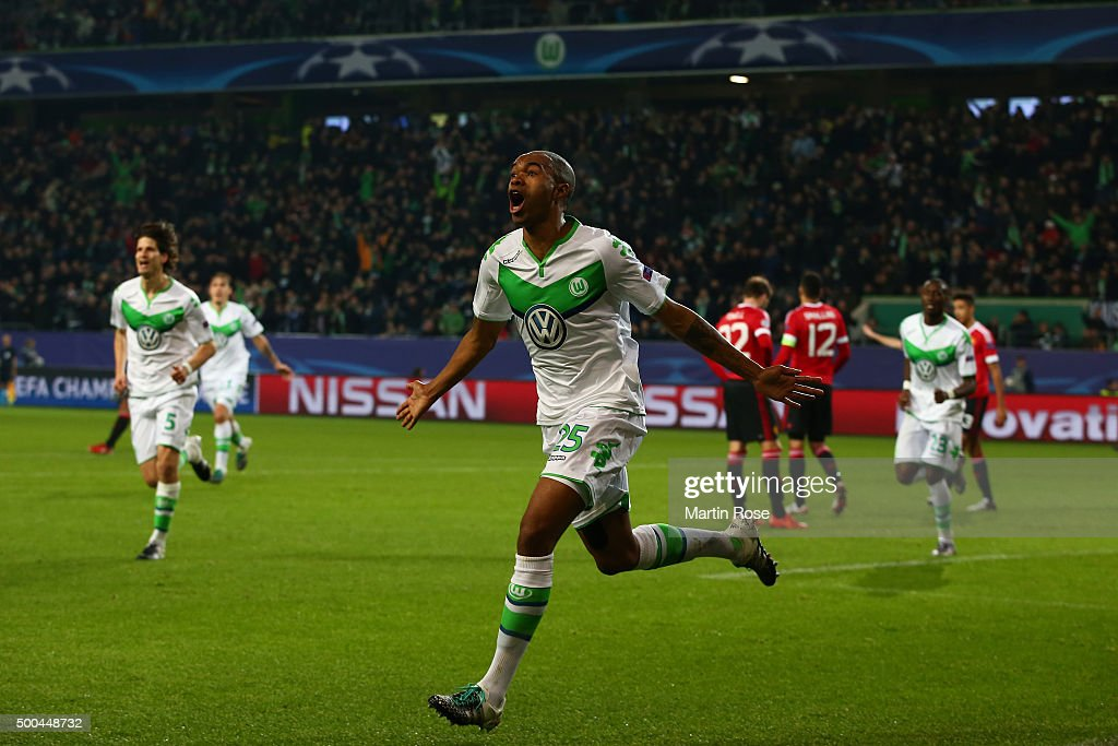 VfL Wolfsburg v Manchester United FC - UEFA Champions League : News Photo