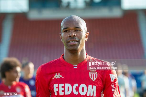 Naldo Rodrigues of AS Monaco during the pre-season friendly match between FC Lausanne-Sport and AS Monaco at Stade olympique de la Pontaise on July...