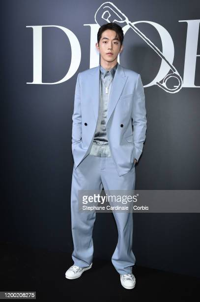 Nam Joo-Hyuk attends the Dior Homme Menswear Fall/Winter 2020-2021 show as part of Paris Fashion Week on January 17, 2020 in Paris, France.