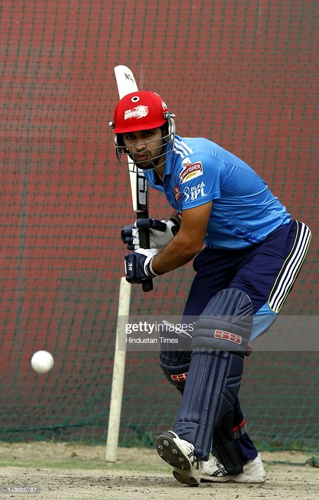 Rajasthan Royals And Delhi Daredevils Practice Session