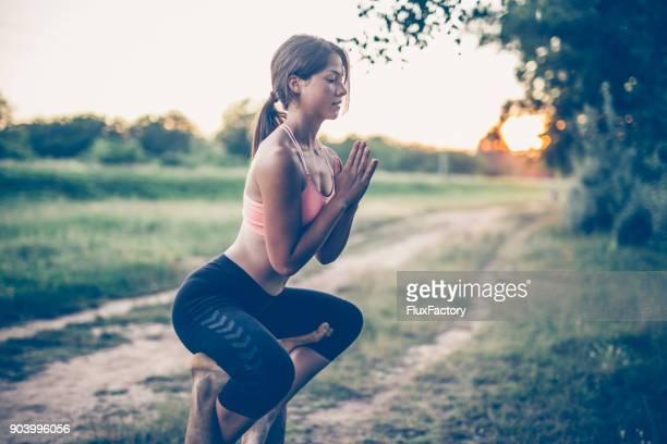Namaste position