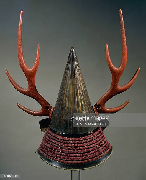 NambanKabuto helmet with decoration in the shape of antlers Edo period Japan the first half of 17th century Florence Museo Stibbert