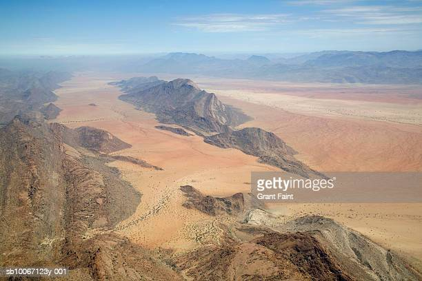 Nambia, Angola, Namb desert, Aerial view