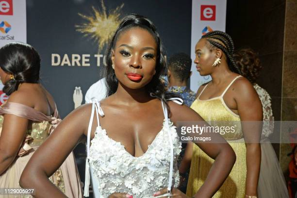 Nambitha Ben Mazwai during the 13th annual South African Film and Television Awards at the Sun City Superbowl on March 02 2019 in Rustenburg South...