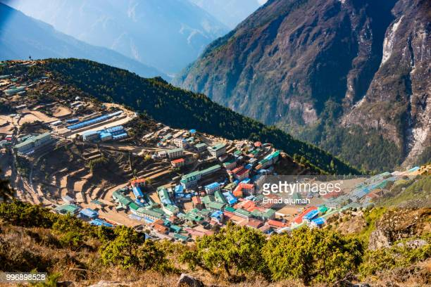 Namche Bazaar in the Khumbu (Everest) region, Nepal