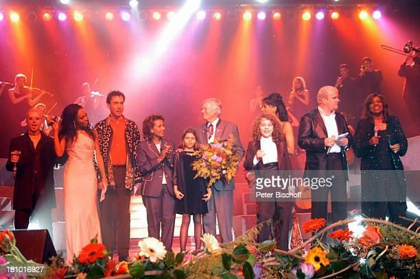 Name auf Wunsch, Senait, Hubert von Goisern, Almaz Böhm , Tochter Aida Böhm, Karlheinz Böhm, Mark Ehrenfried , Moderatorin Arabella Kiesbauer, DJ ;...