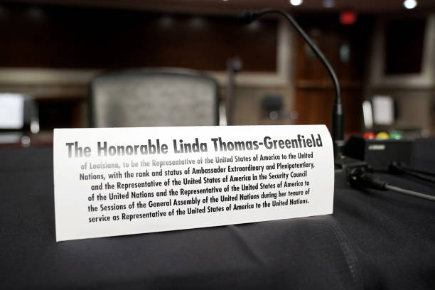 DC: Senate Foreign Relations Committee Examines Nomination Of Linda Thomas-Greenfield For UN Ambassador