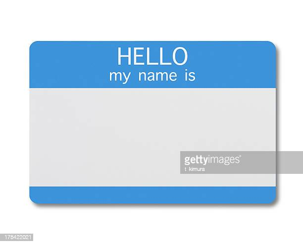 name tag - identity stock pictures, royalty-free photos & images