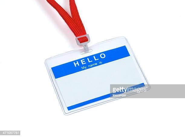 Name Tag Series