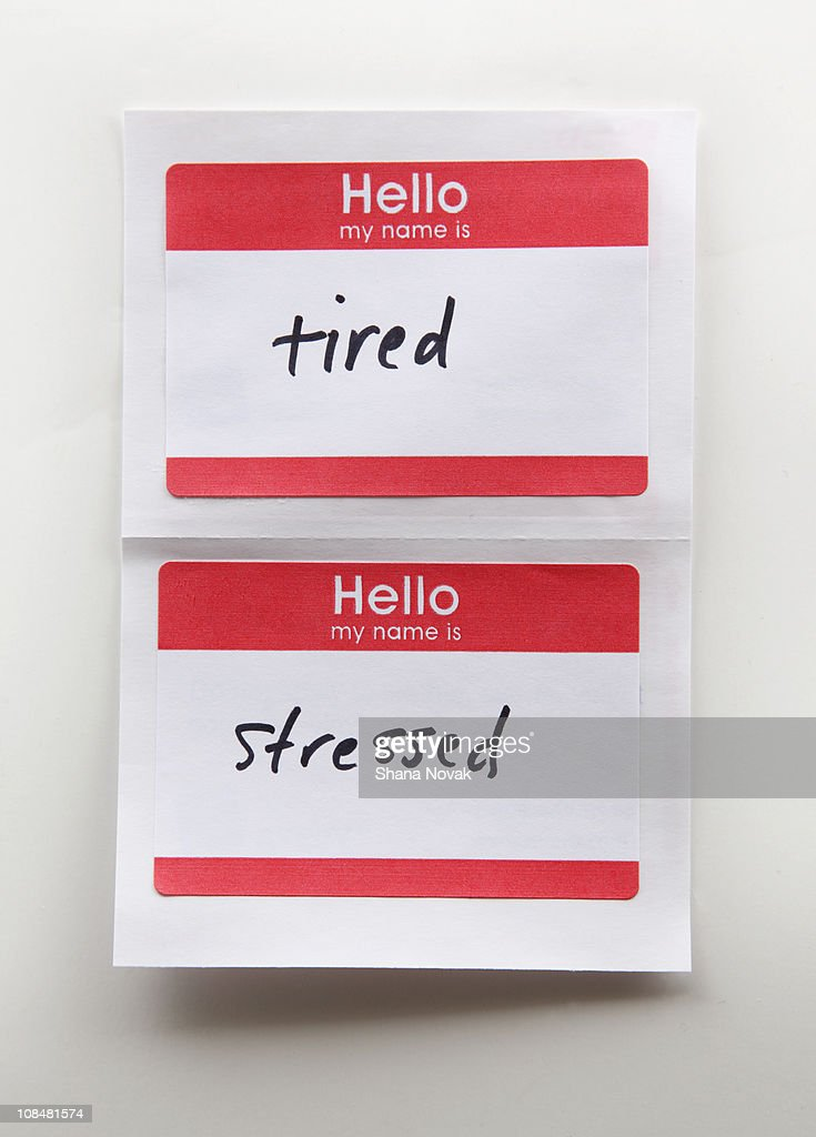 Name Tags : Stock Photo