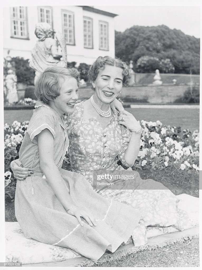 Denmark's Queen with Daughter : News Photo
