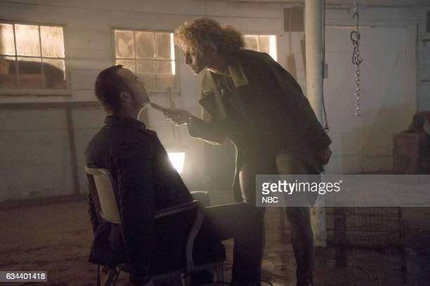 """Named Not One Man"""" Episode 213 -- Pictured: Sullivan Stapleton as Kurt Weller, Michelle Hurd as Shepherd --"""