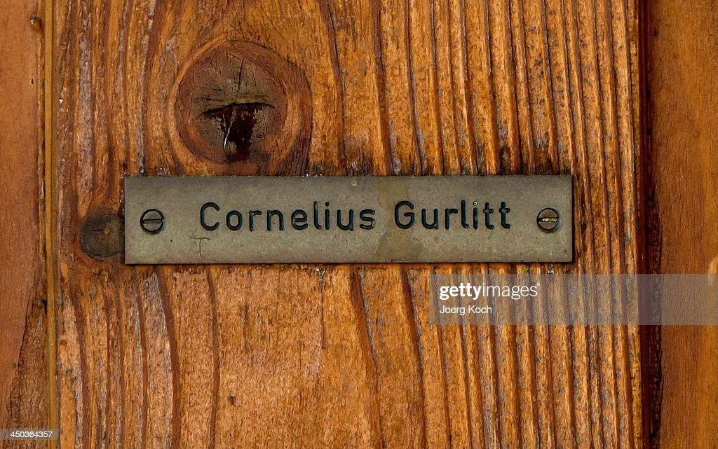The House Of Art Collector Cornelius Gurlitt In Salzburg : News Photo