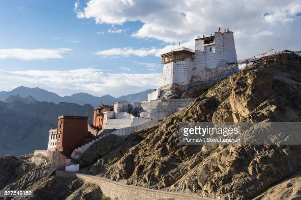 Namgail Tsemo monastery, Landmark of Leh city, Ladakh,Jammu Kashmir, India