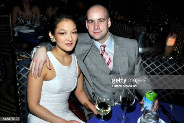 Nami Ahn and Rich Hedge attend LAUNCH OF THE NEW MODELS HOTEL at Juliet Supper Club on February 8 2010 in New York City