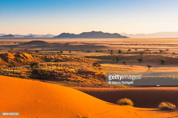 Namib desert at sunrise, Namibia