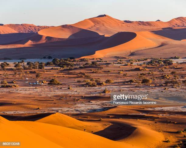 namib desert, sossusvlei sand dunes, namibia, africa - kalahari desert fotografías e imágenes de stock