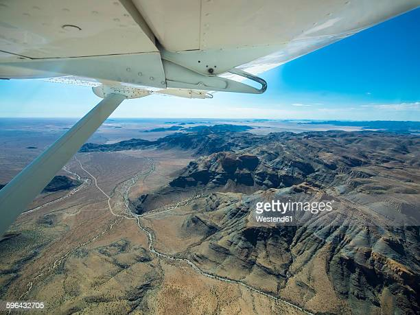 Namibia, Namib Desert, aerial view of NamibRand Nature Reserve