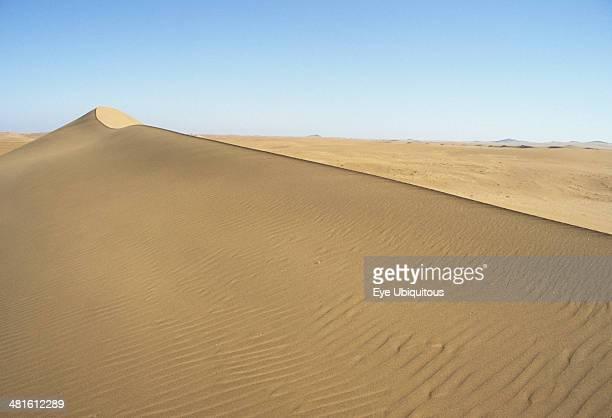 Namibia Namib Naukluft Desert Sand dunes in the De Beers Diamond mining area
