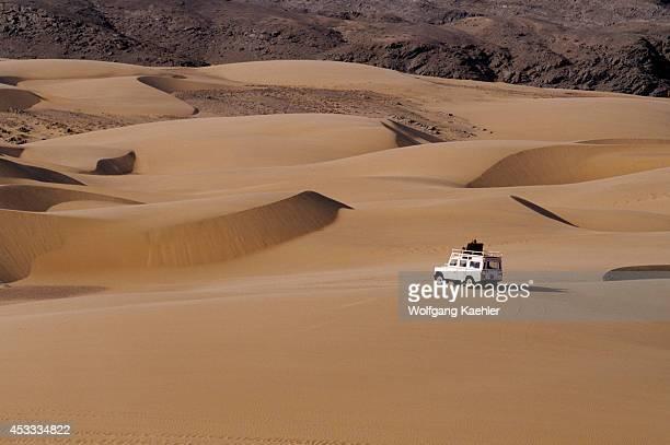 Namibia Skeleton Coast Kunene River Area Hartmann Valley Sand Dunes Landrover