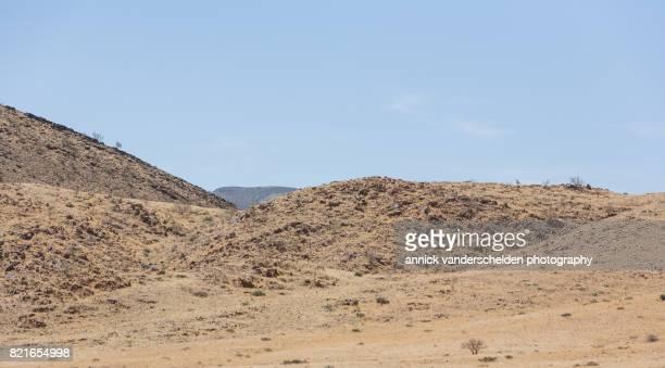 Namibian landscape in Sesriem area.