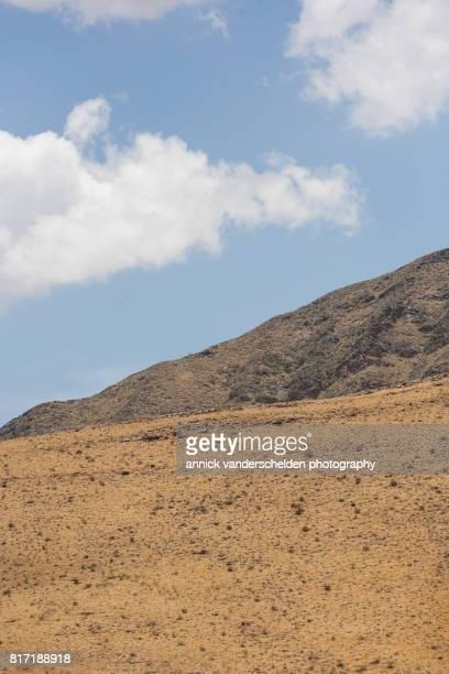 namibian semi-arid landscape. - セスリエム ストックフォトと画像