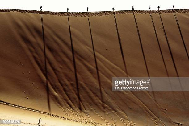 Namibia's dunes in namib-naukluft national par
