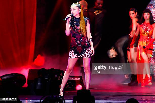Namie Amuro attends Jolin's concert on 26th May 2015 in Taipei Taiwan China