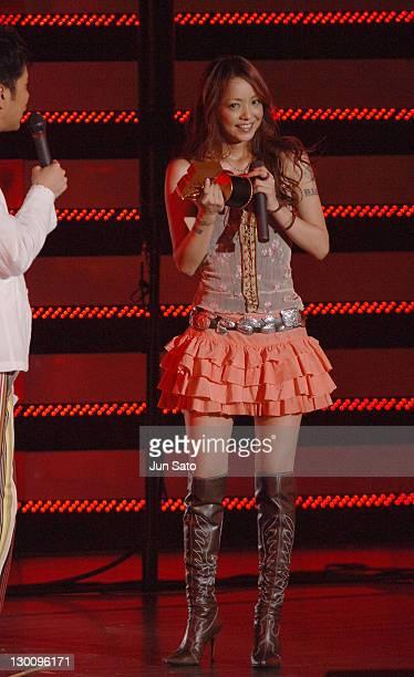 Namie Amuro during MTV Video Music Awards Japan 2005 Show at Tokyo Bay NK Hall in Urayasu Japan