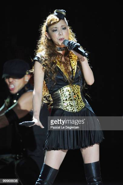 Namie Amuro performs onstage during the World Music Awards 2010 at the Sporting Club on May 18 2010 in Monte Carlo Monaco
