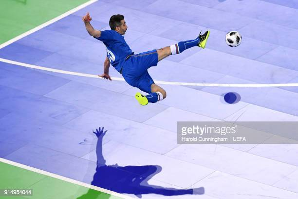 Namig Mammadkarimov of Azerbaijan in action during the UEFA Futsal EURO 2018  quarterfinal match between Portugal 0149a9633ba15