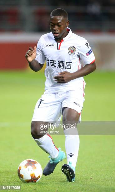 Nampalys Mendy of OGC Nice during the UEFA Europa League match between SV Zulte Waregem and OGC Nice at Regenboogstadion on September 14 2017 in...