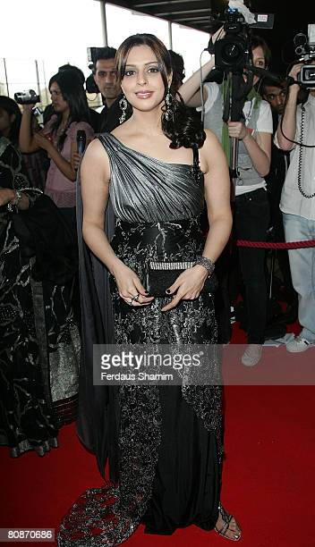 Namrata Sadhana known as Nagma attends the Zee Cine Awards 2008 at ExCel on April 26 2008 in London England