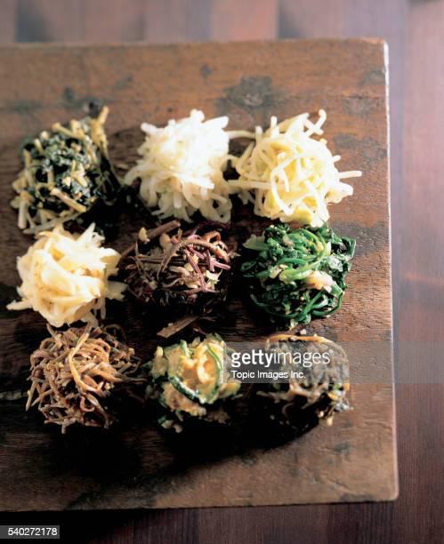 Namul _ Korean seasoned vegetable dish, Korean Food