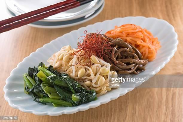 namul - 韓国料理 ストックフォトと画像