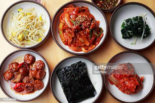 Namul set,korea food