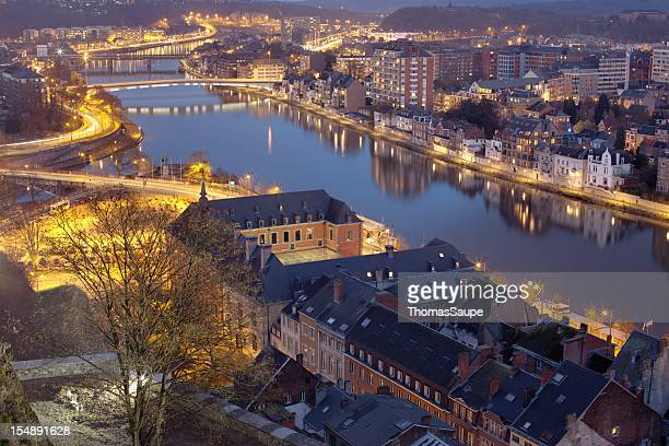 Namur at night