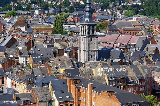 Namurview from the citadel Belgium