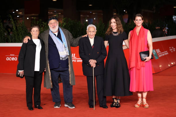 """ITA: """"Treasure of his Youth: The Photographs of Paolo Di Paolo"""" Red Carpet - 16th Rome Film Fest 2021"""