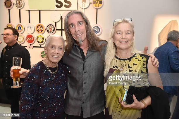 Nan Corman Gary Irving and Nell Newman attend the Phillips Los Angeles October Highlights Reception on October 12 2017 in Los Angeles California