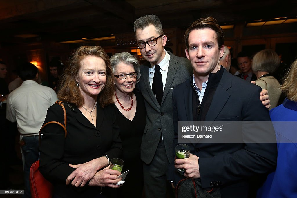 Nan Graham, Editor in Chief of Scribner; Barbara Hainey and GQ Deputy Editor/author Michael Hainey attend the GQ 'After Visiting Friends' book party on February 21, 2013 in New York City.