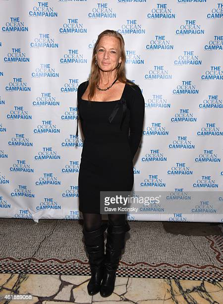 Nan Hauser attends The Ocean Campaign Launch Gala at Capitale on January 20 2015 in New York City