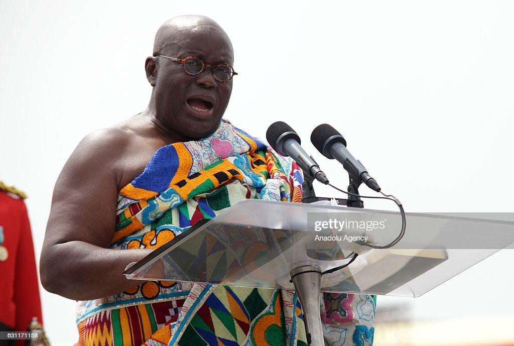 Newly-elected President of Ghana Nana Akufo-Addo : Nieuwsfoto's