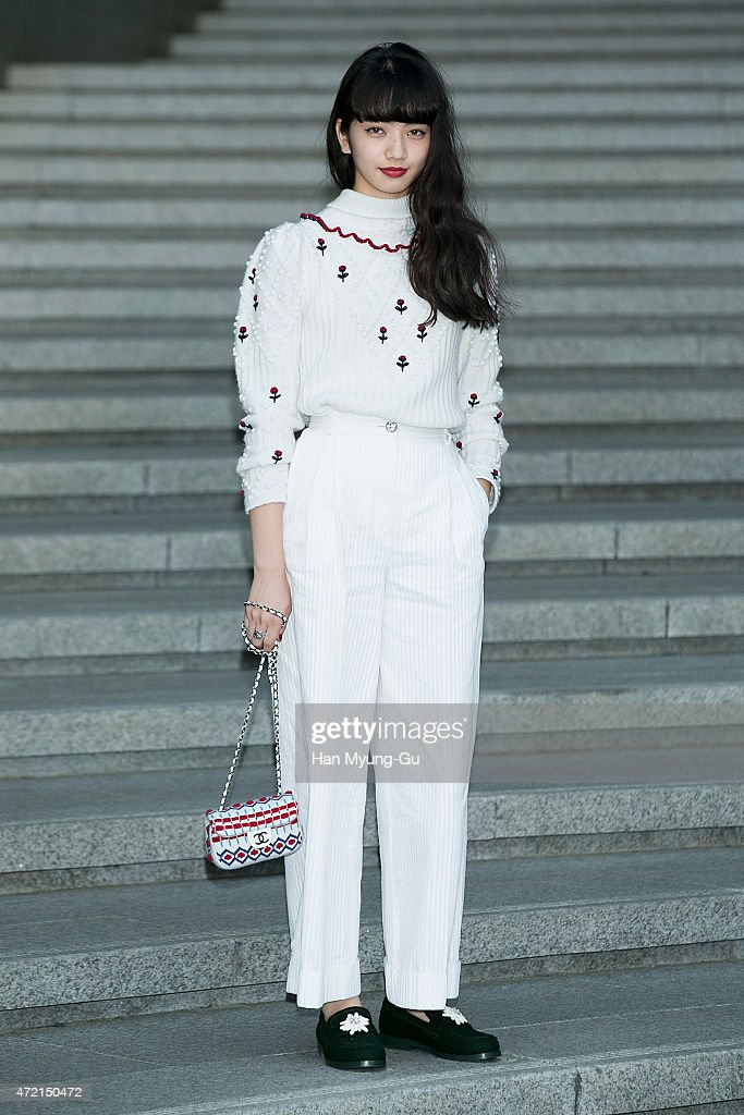 Chanel 2015/16 Cruise Collection - Photocall : News Photo