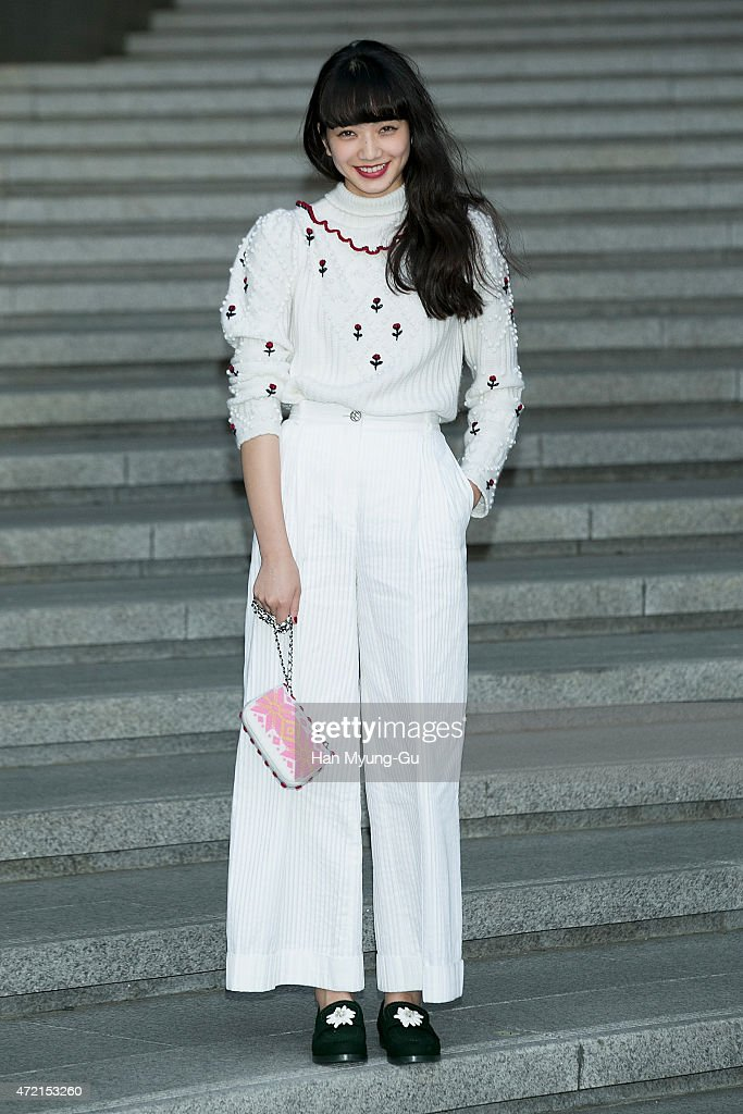 Nana Komatsu attends the Chanel 2015/16 Cruise Collection show on May 4, 2015 in Seoul, South Korea.